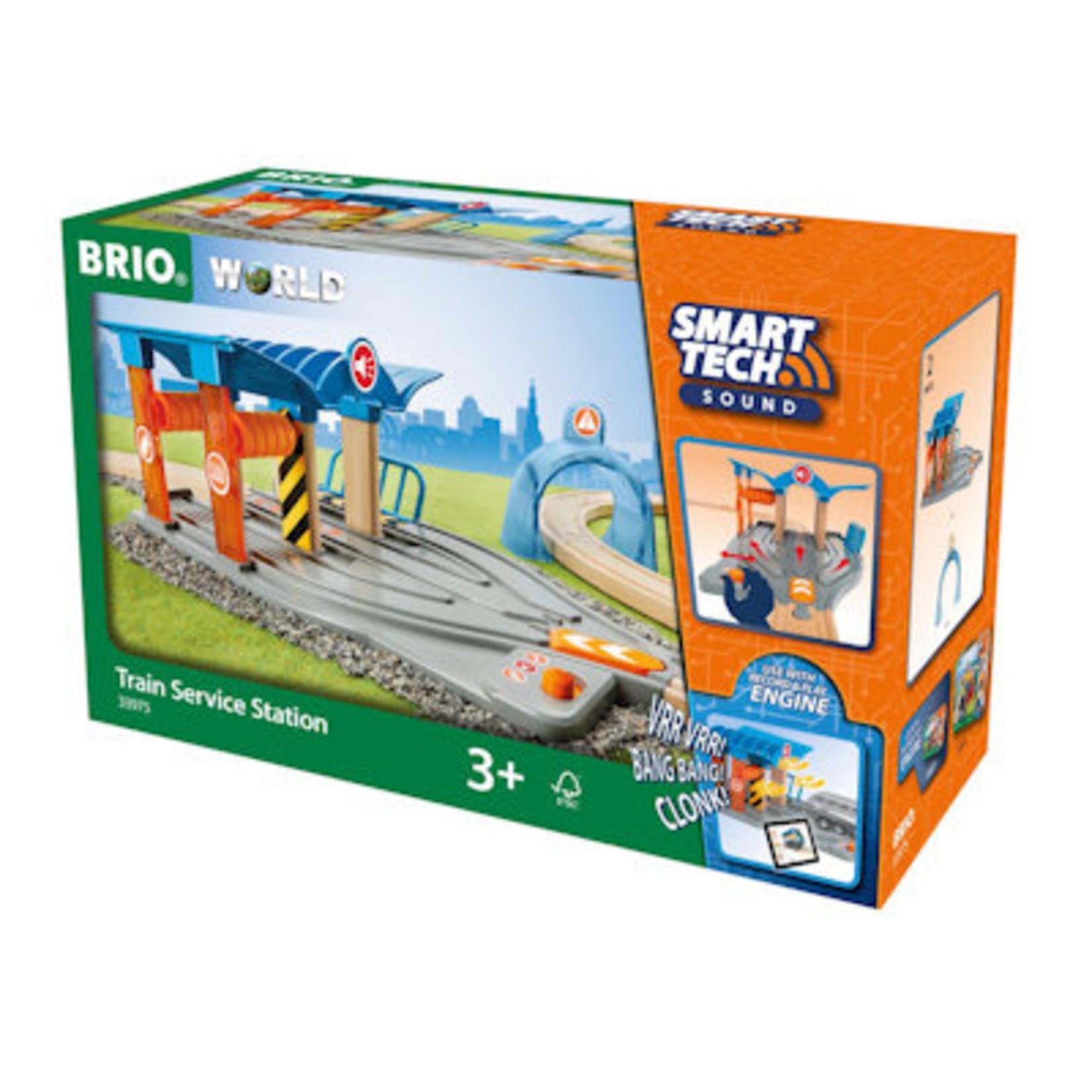 Brio Smart Tech Trein Service Station