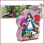 Djeco Sihouette Puzzel Alice in wonderland