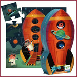 Djeco Silhouette Puzzel Raket