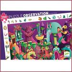 Djeco Observatiepuzzel Video Game - 200 st