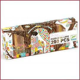 Djeco Gallerie Puzzel Boomhuis 200st