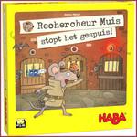 Haba Spel - Rechercheur Muis stopt het gespuis!