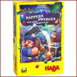 Haba Spel - Dappere Dwergen - Klop jullie karretje vol