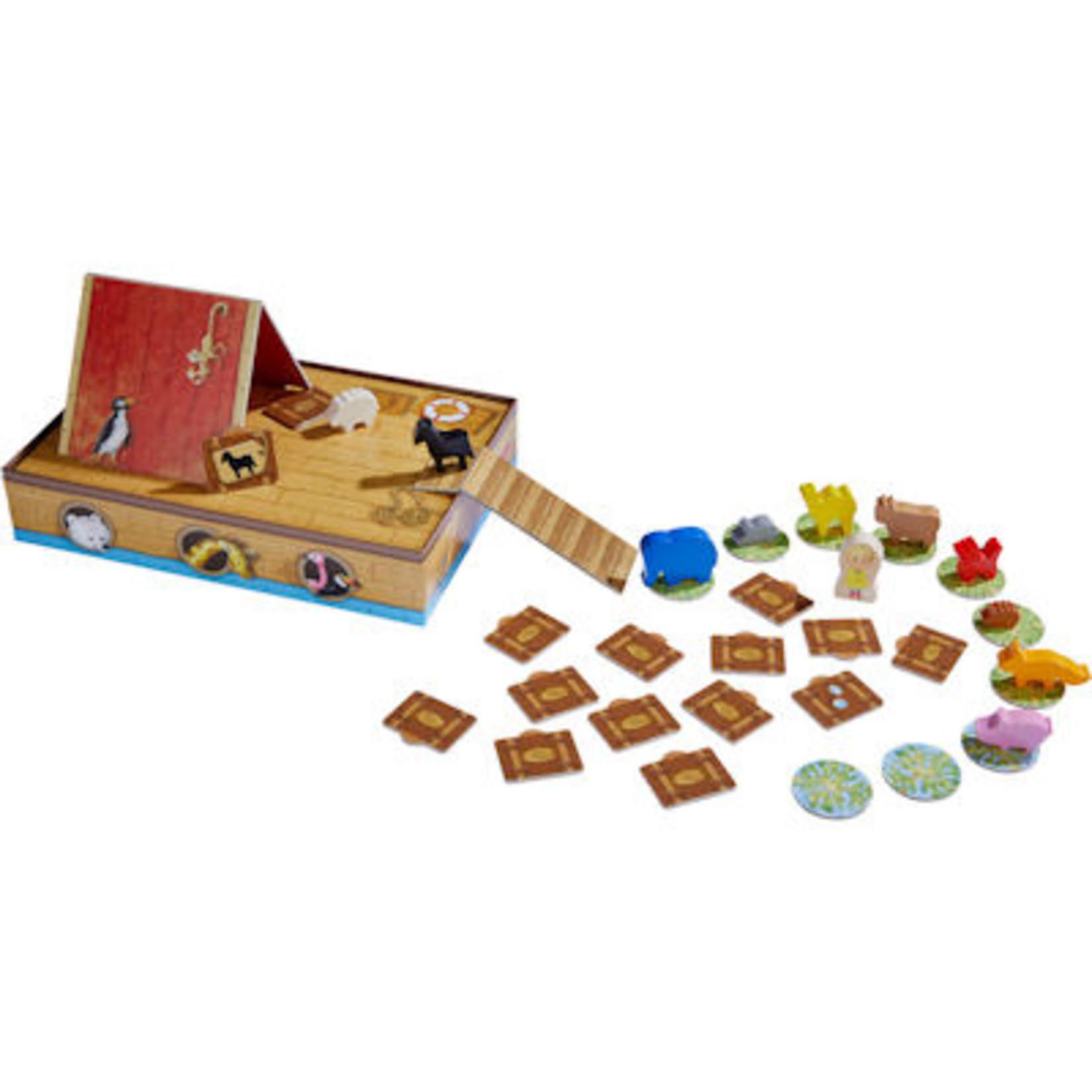 Haba Spel - Naar de Ark - Zonder goede koffer krijg je natte voeten