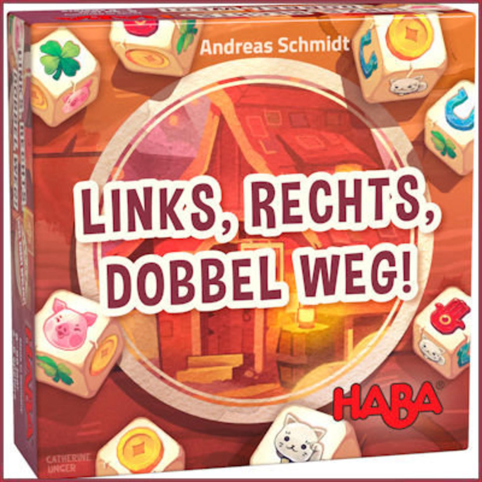 Haba Spel - Links, rechts, dobbel weg!