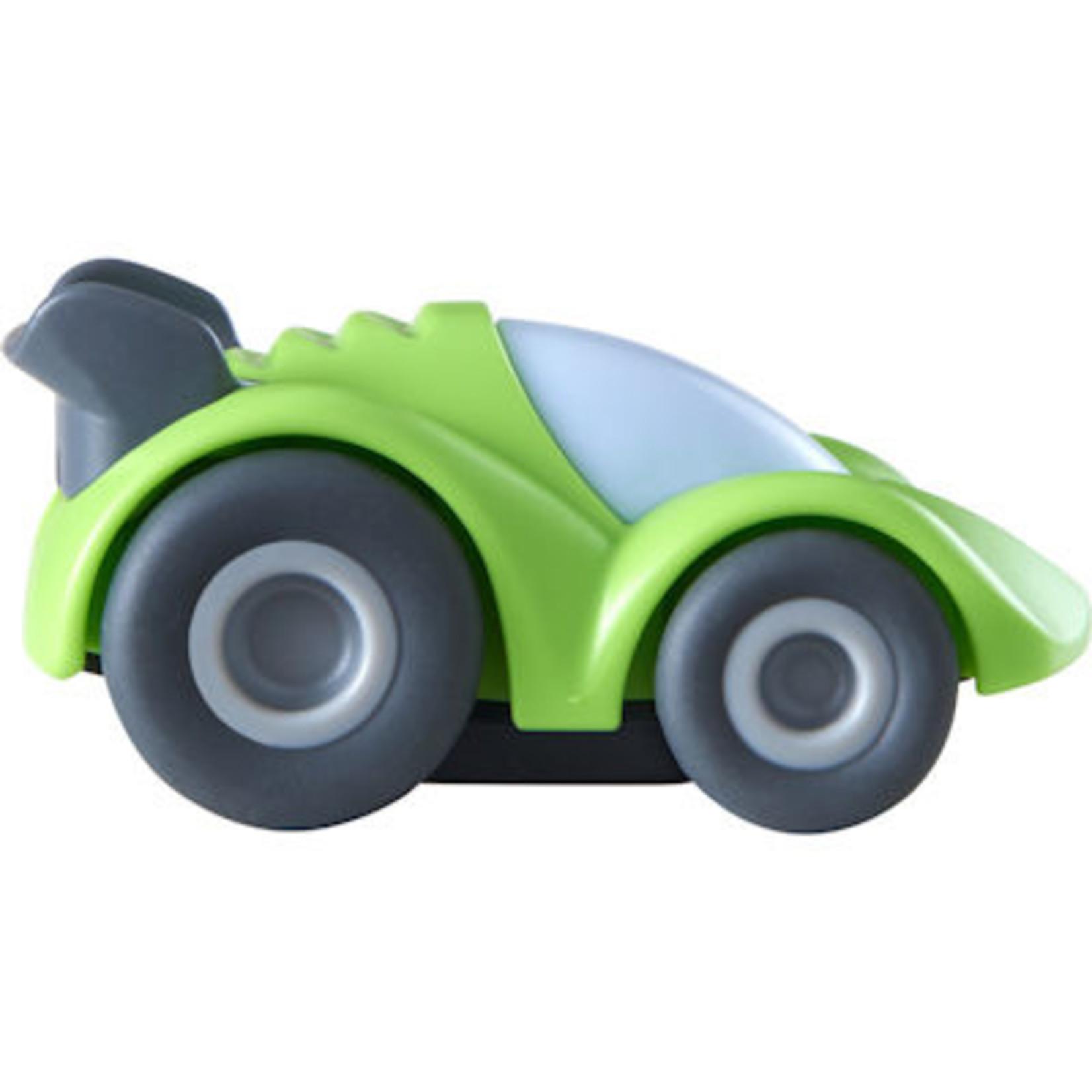 Haba Kullerbü Knikkerbaan -  Groene sportwagen