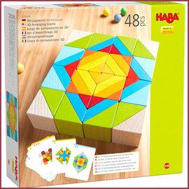 Haba 3D Compositiespel Blokkenmozaïek