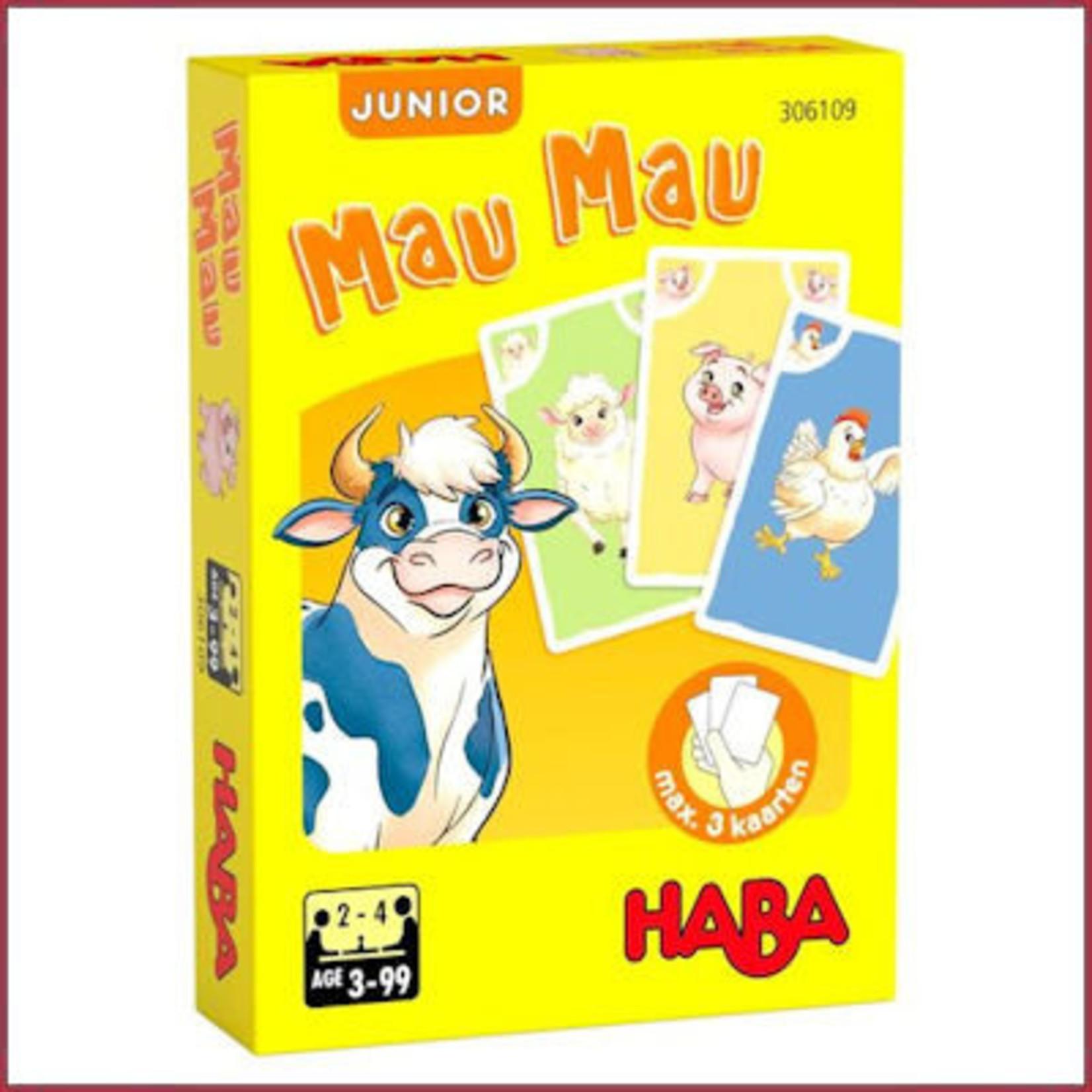 Haba Kaartspel Mau Mau junior - Boerderij