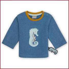 Sigikid Truitje blauw met zeepaardje