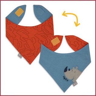 Sigikid Bandana oranje/blauw