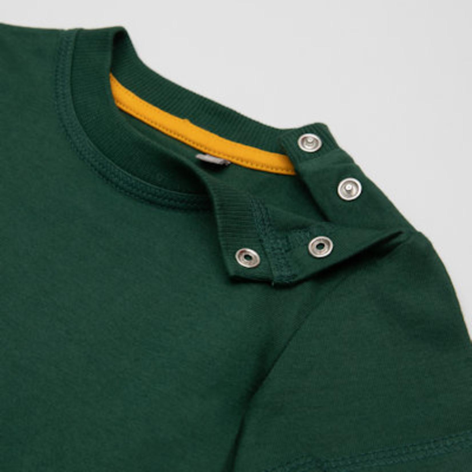 Sigikid Groen T -shirt korte mouw met giraf