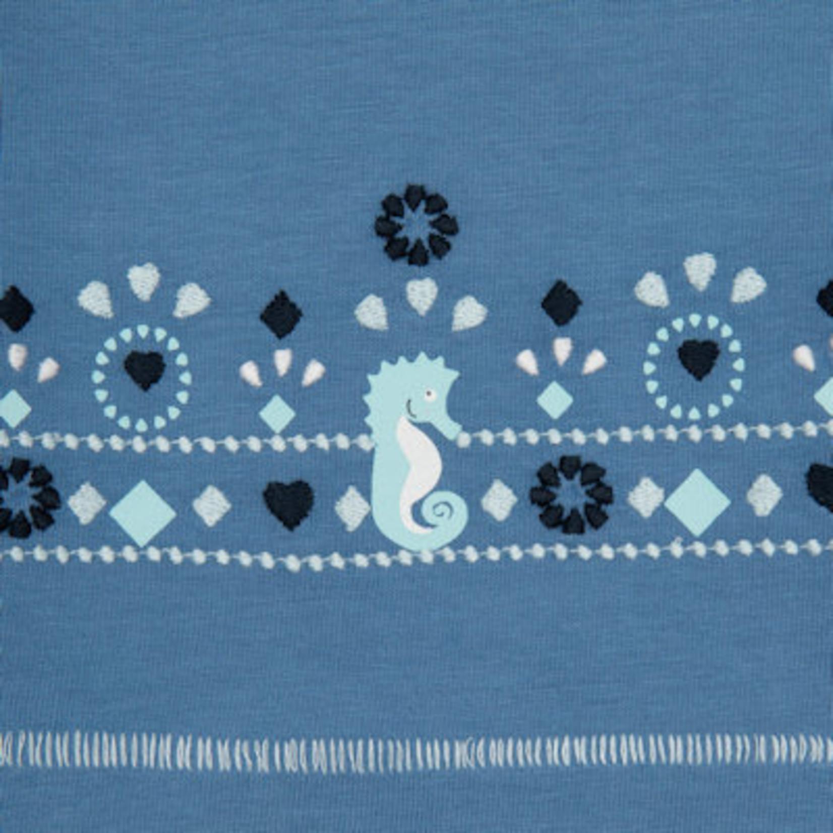Sigikid T - shirt met zeepaardjes motief