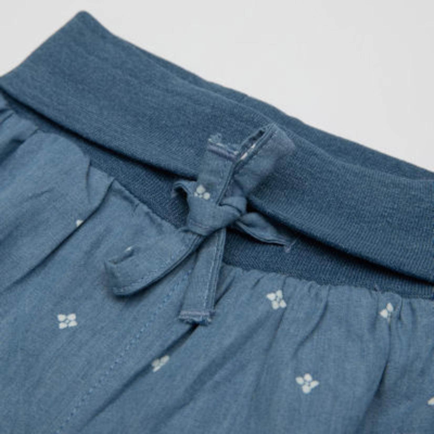 Sigikid Pofbroekje jeans met klein printje