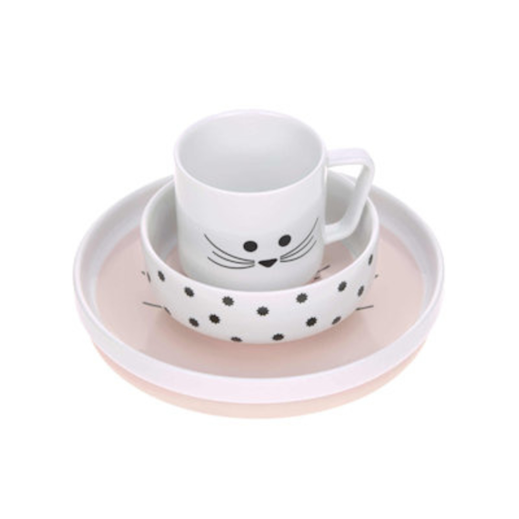 Lässig Lässig Porceleinen Servies setje Little Chums Muis