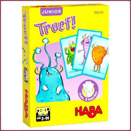 Haba Kaartspel - Troef Junior - Monsteralarm