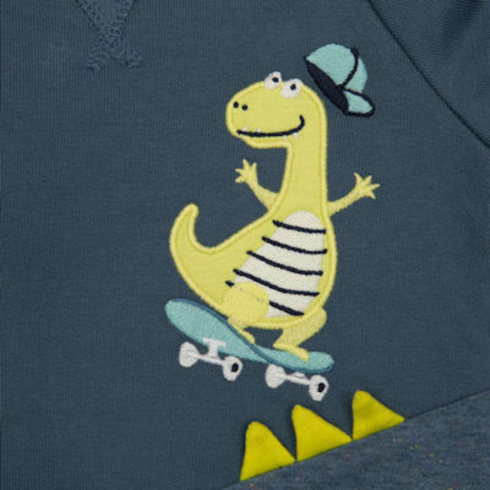 Sigikid Blauw sweatshirt met DIno