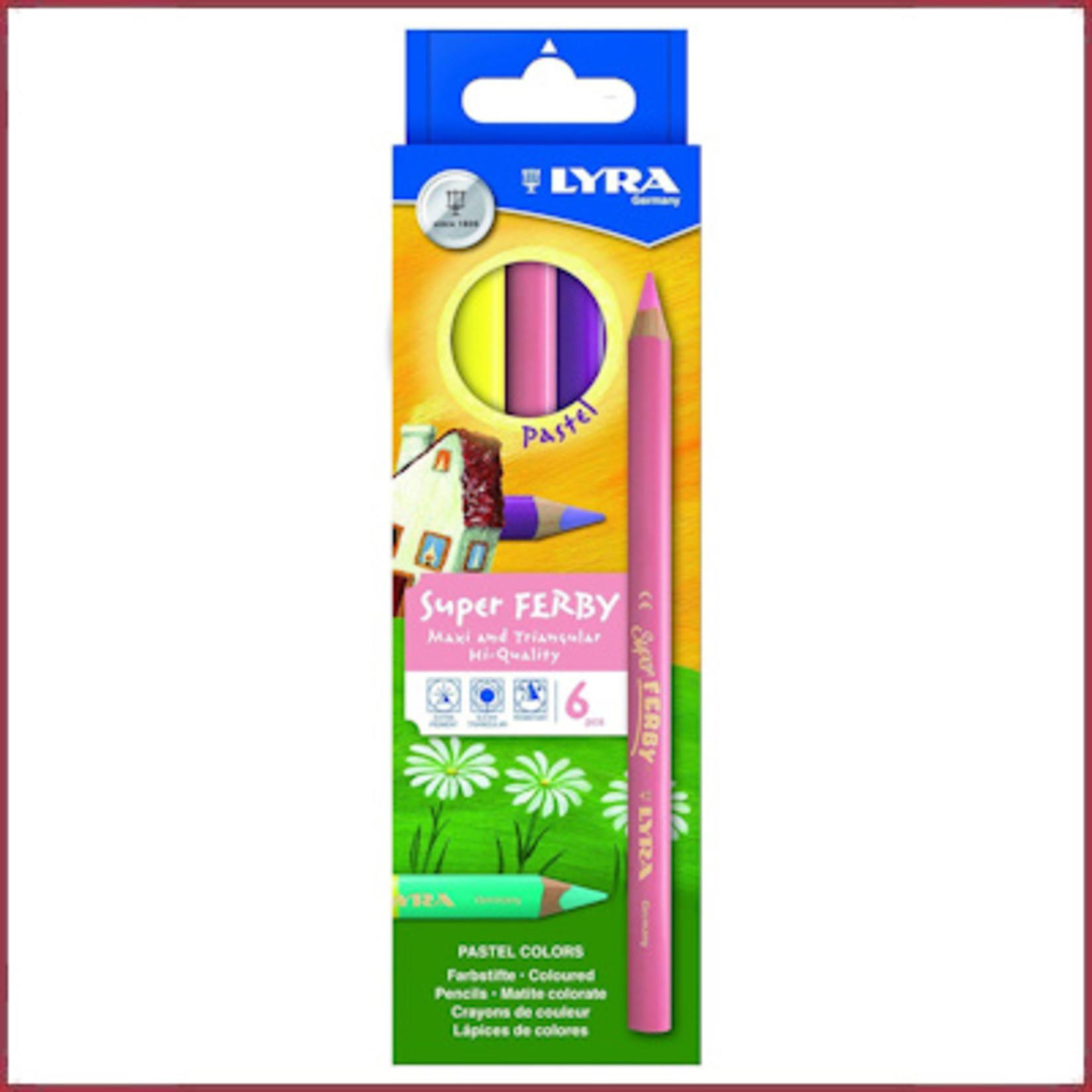 Lyra Lyra Super Ferby Kartonnen doosje 6 st Pastel