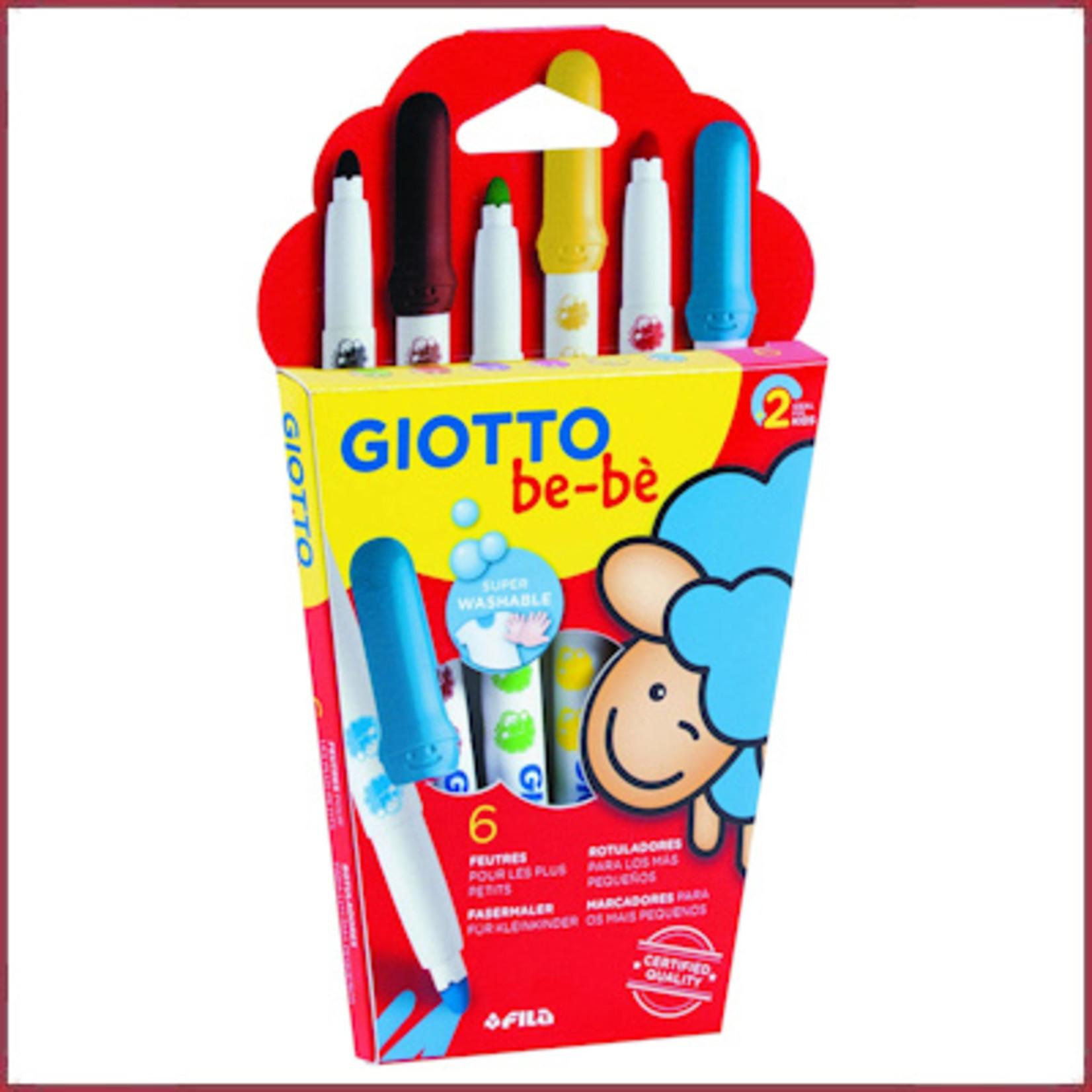 Giotto Giotto  washable viltstift 6