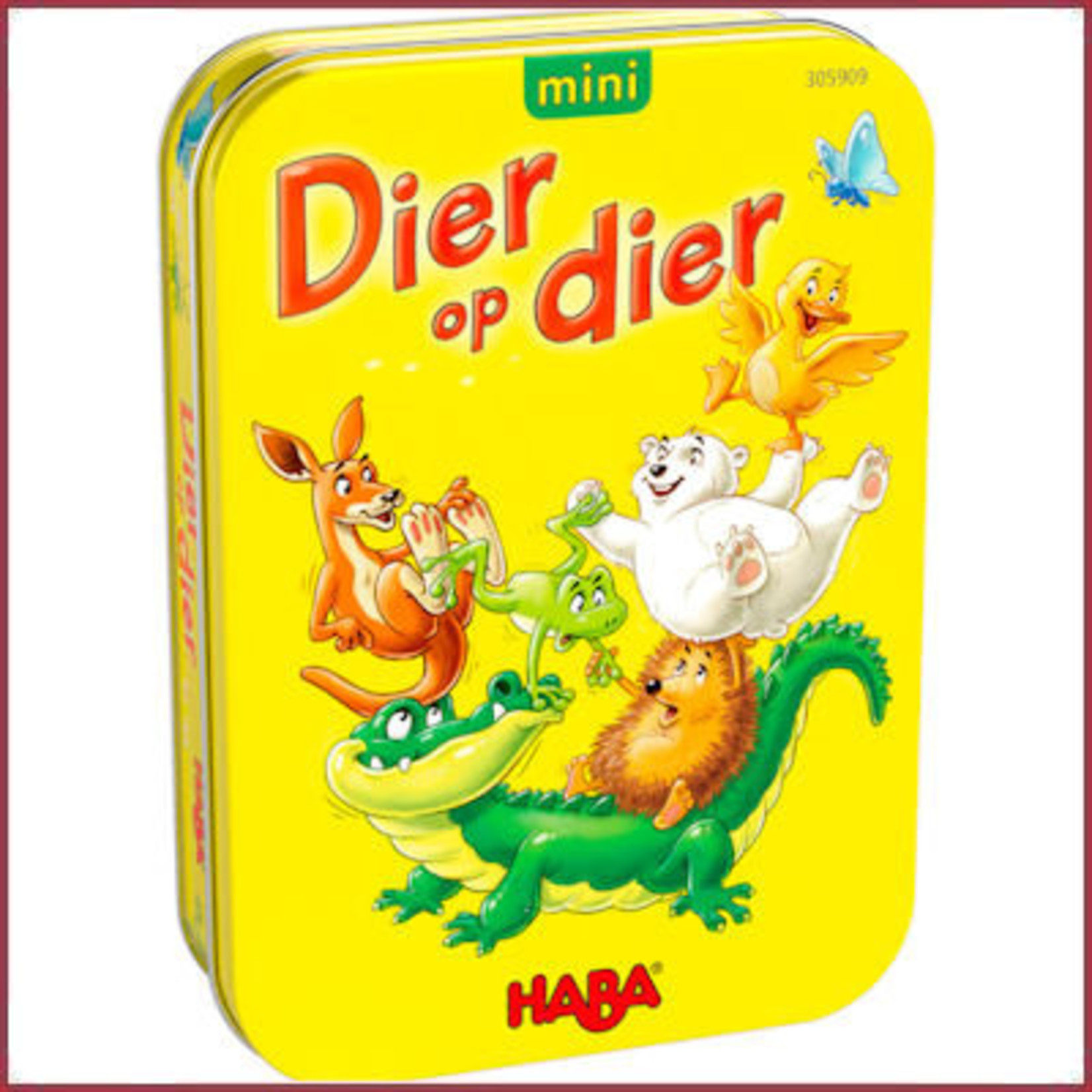 Haba Spel - Dier op Dier mini