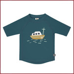Lässig UVP strandtruitje korte mouw Boot blauw