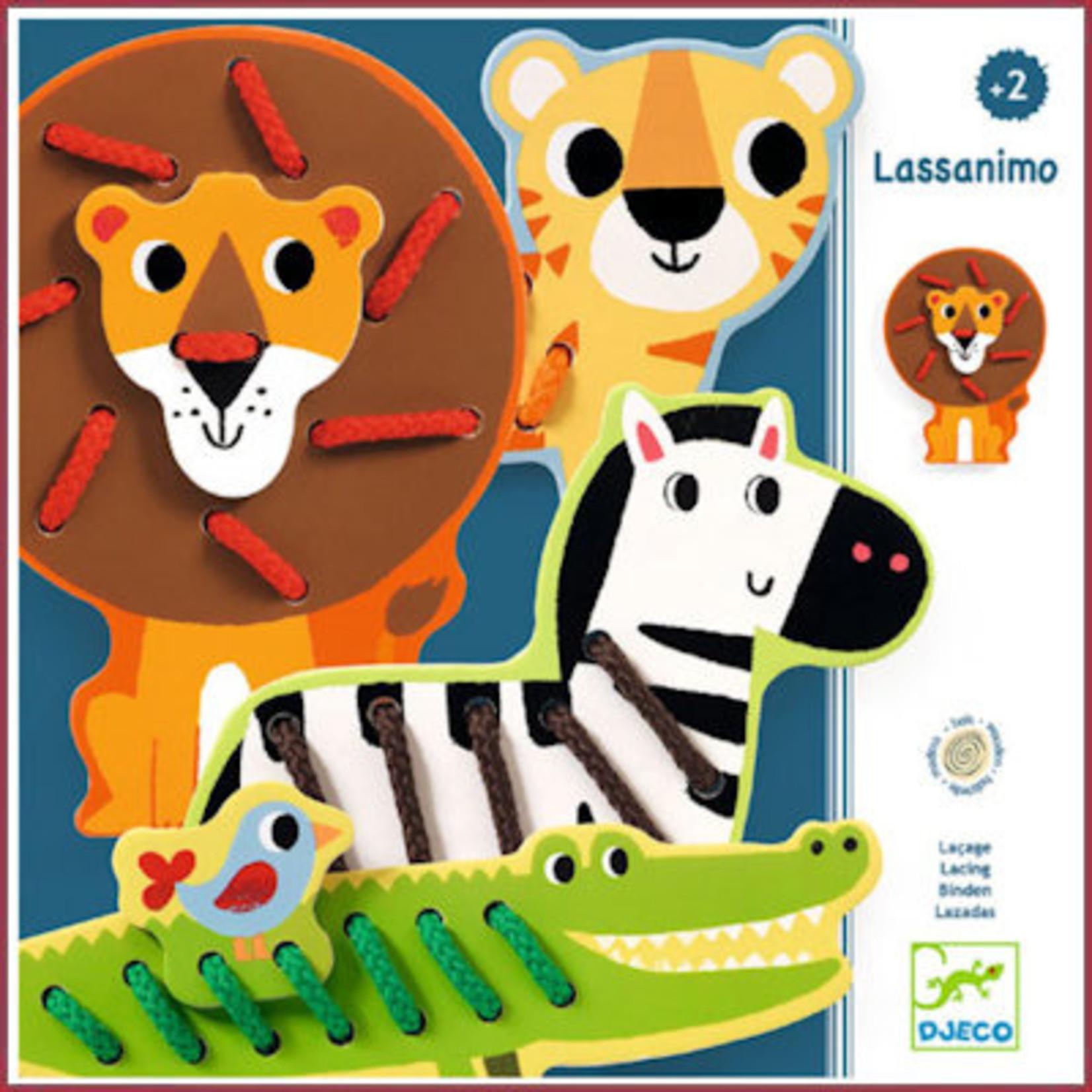 Djeco Lassanimo - Rijgen