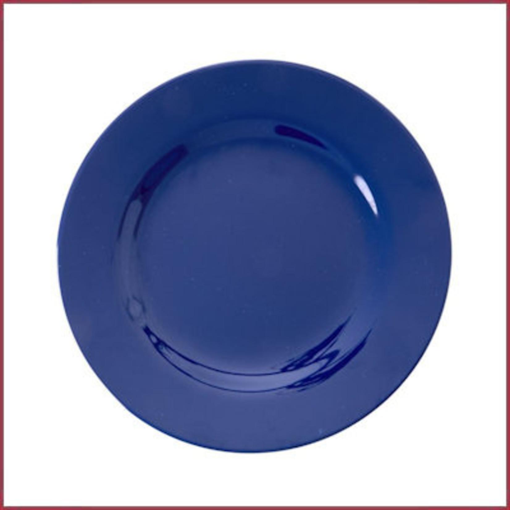 Rice Rice Melamine ontbijtbord Donkerblauw