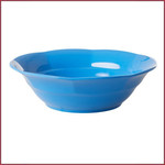 Rice Rice Melamine Soep kom Ocean blue