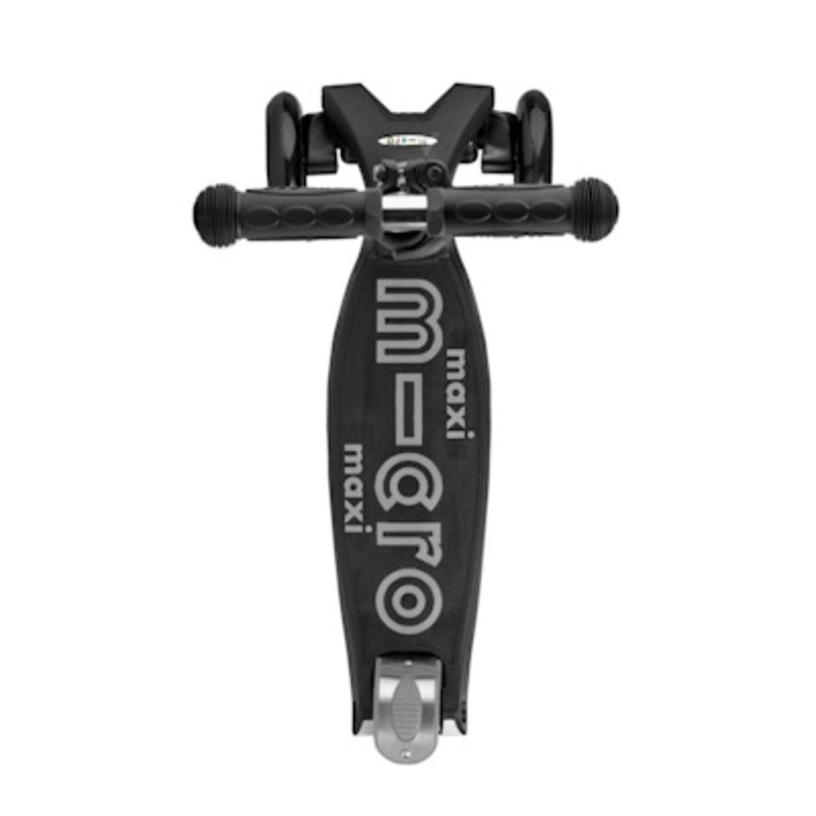 Micro Step Maxi Micro-step deluxe zwart/grijs