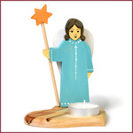 Bumbu Toys Waxinelichtje Engel met ster