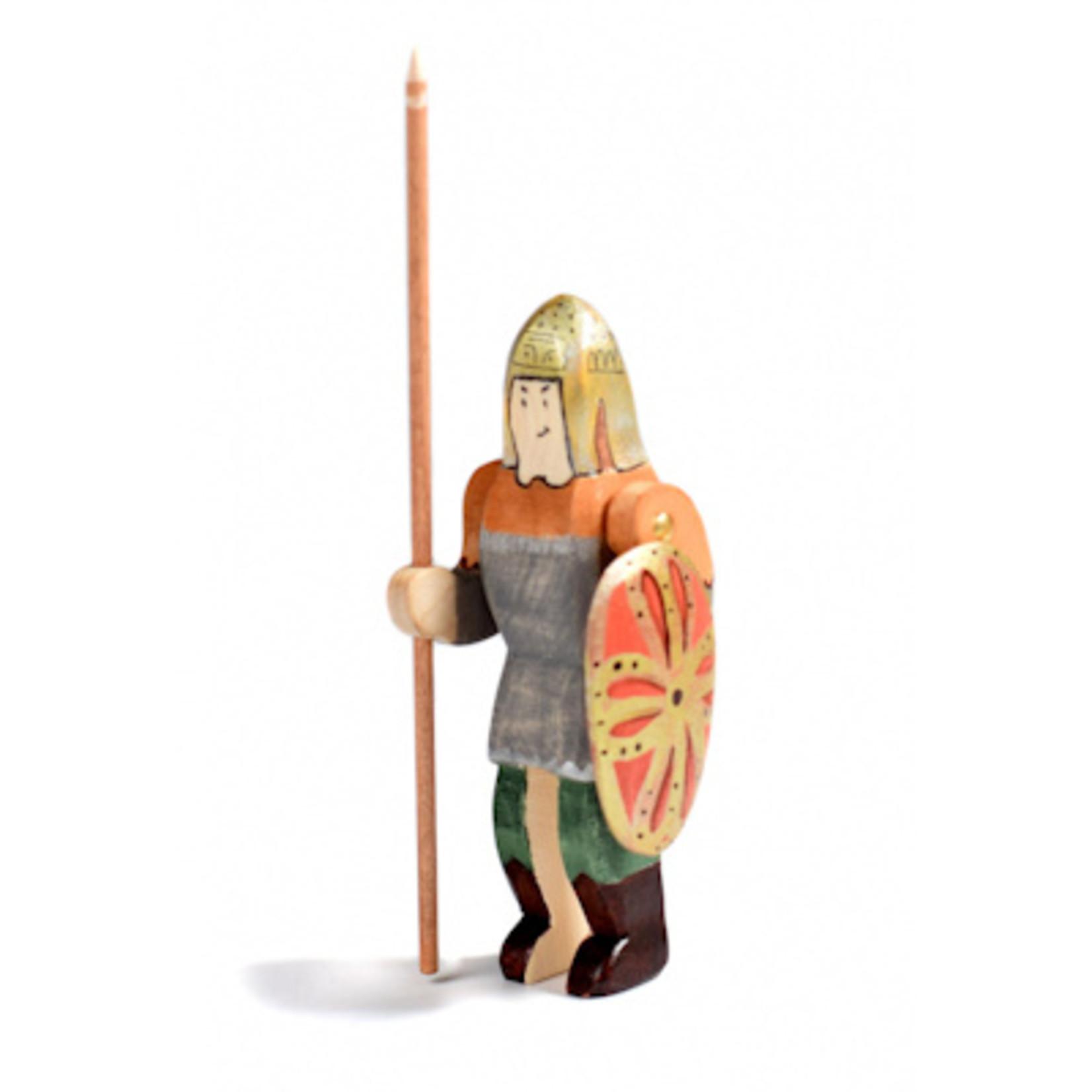 Bumbu Toys Ridder en paard, set
