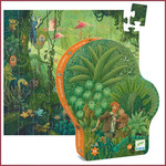 Djeco Silhouet puzzel In de Jungle