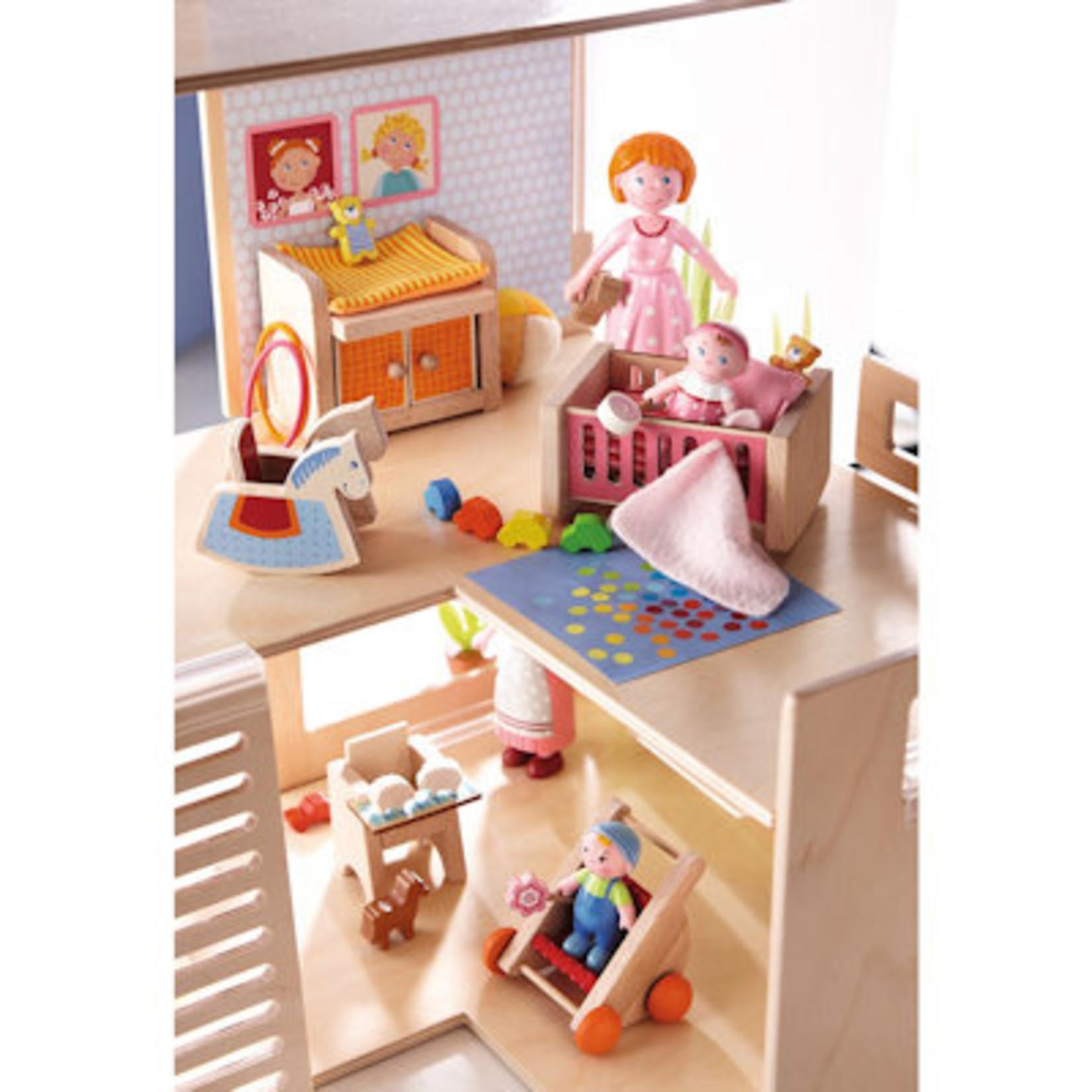Haba LF poppenhuismeubeltjes Kinderkamer