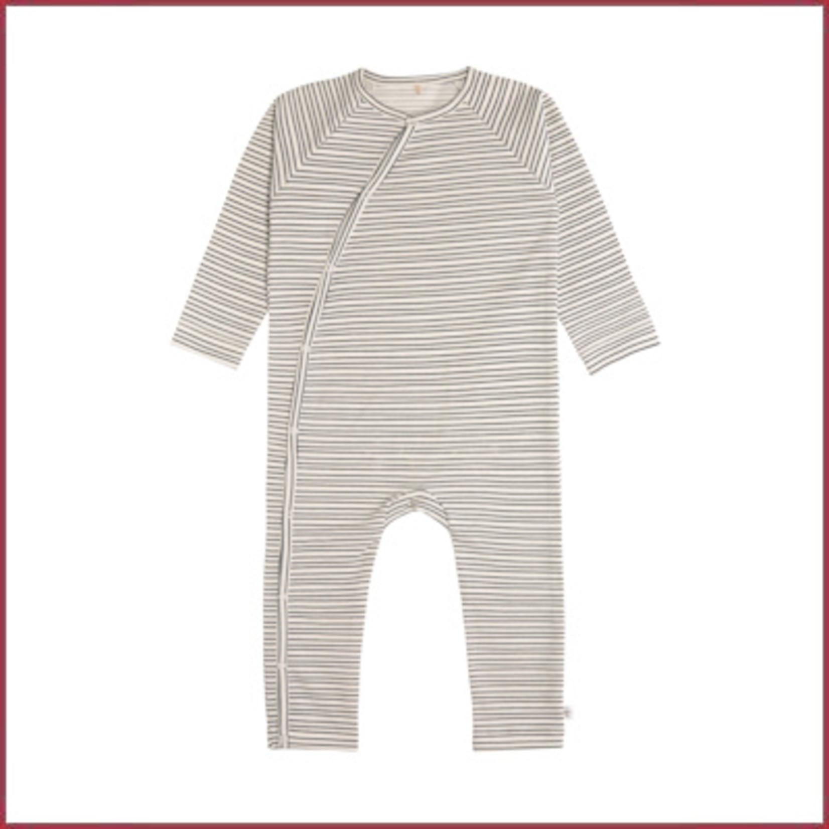 Lässig Boxpakje/pyjama GOTS gestreept grijs/anthracite