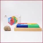 Grimm's Geometrisch bouwspel Vierkant