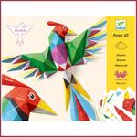 Djeco Vouwen 3D poster - paradijsvogel