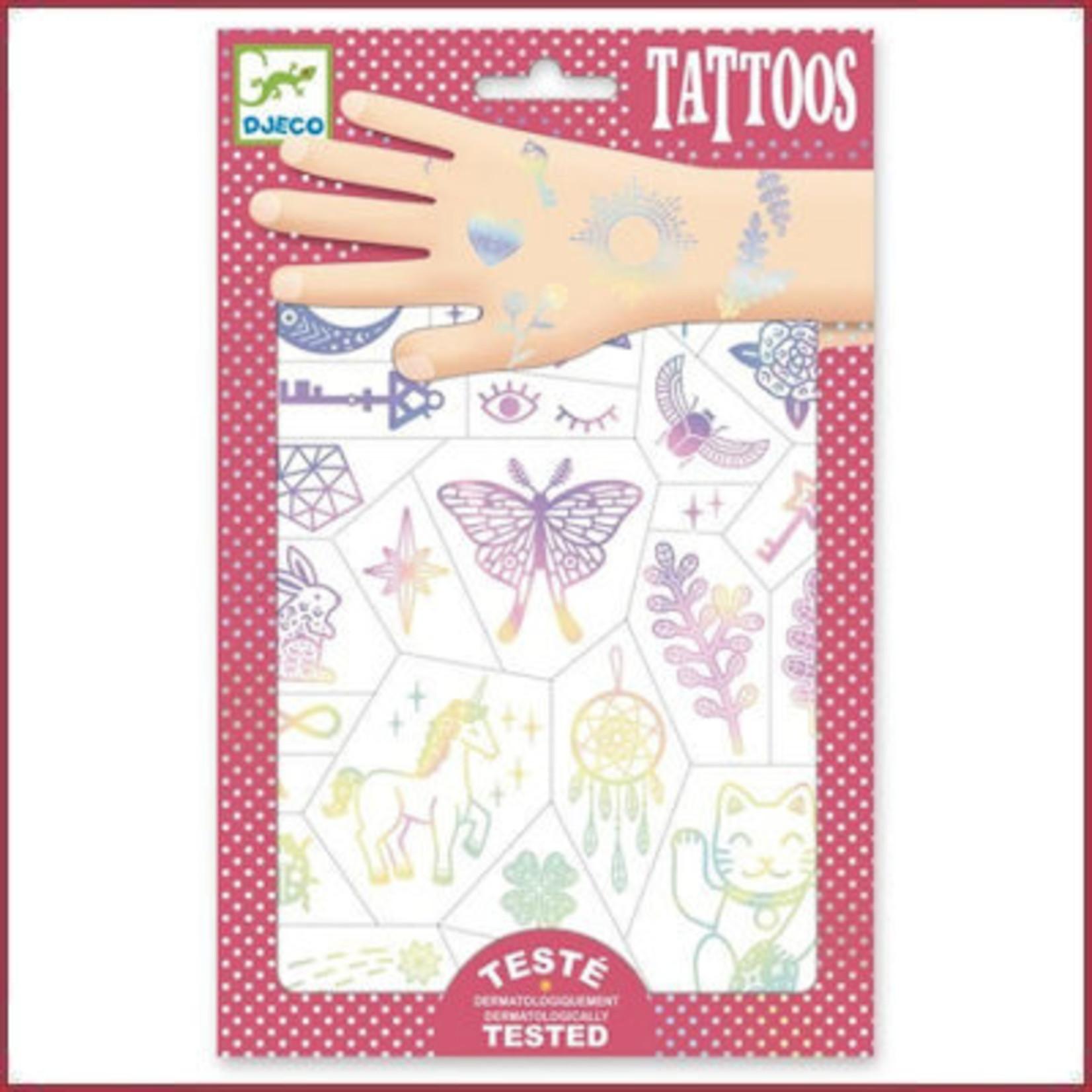 Djeco Tattoos Lucky Charms