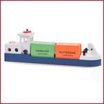 Rijnaak met 2 containers