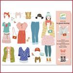 Djeco Papierknutselset - een grote kleedkamer