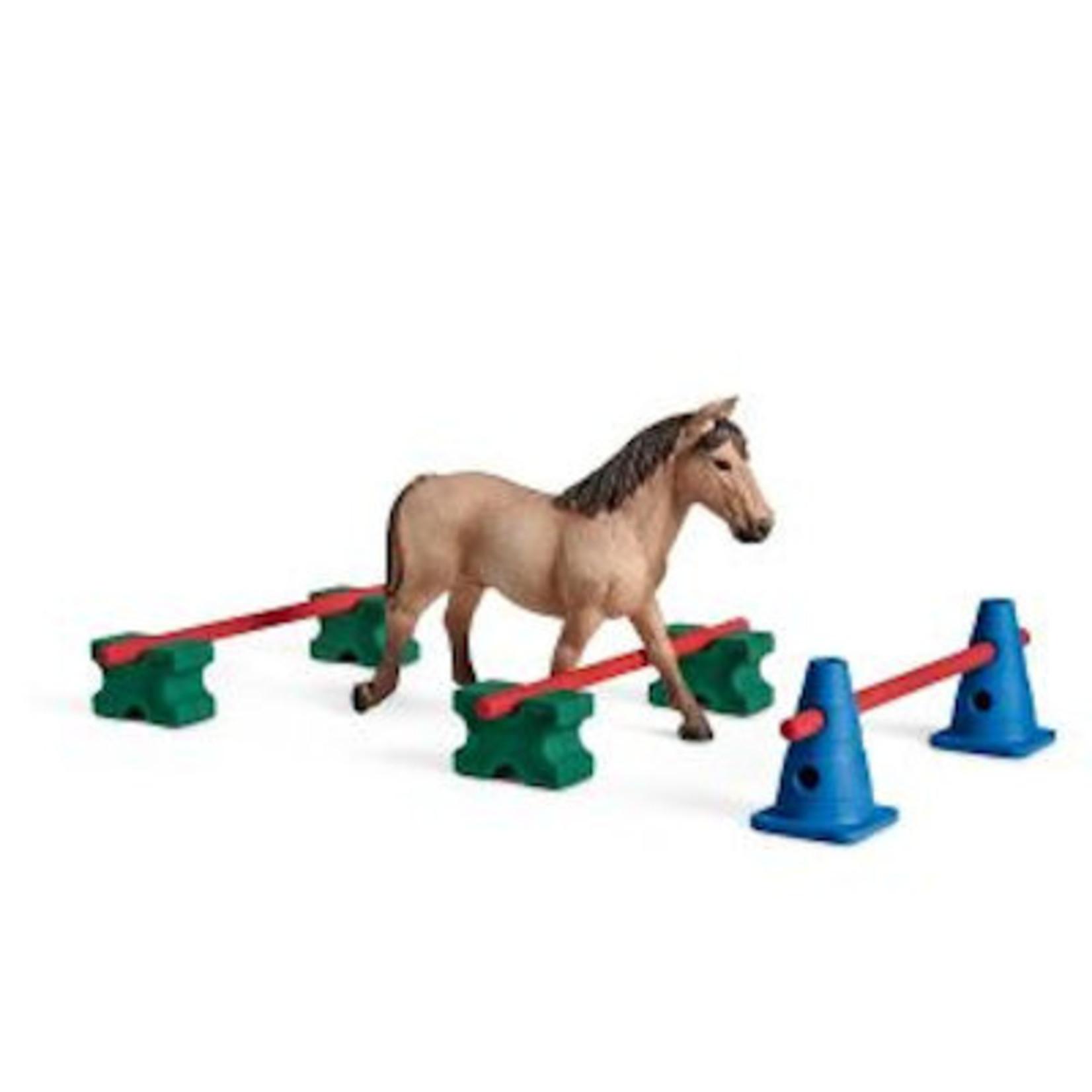 Schleich Pony behendigheidstraining
