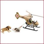 Schleich Reddingshelikopter dieren