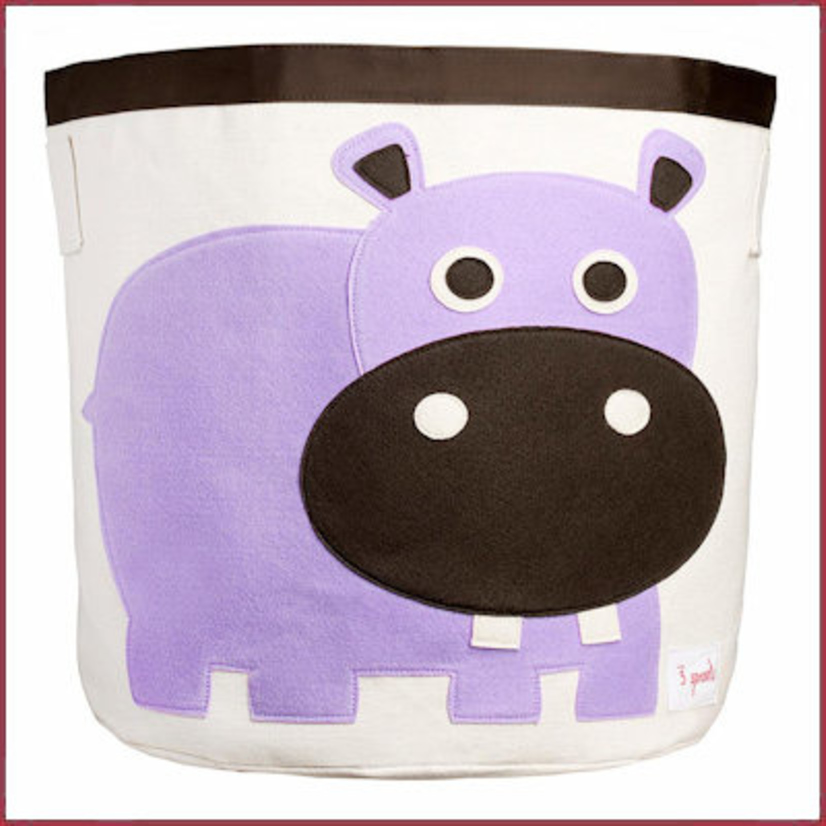 3 Sprouts Opbergmand Nijlpaard