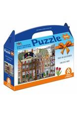 House of Holland Puzzel 1.000 stukjes Amsterdam Parade van Grachtenpanden