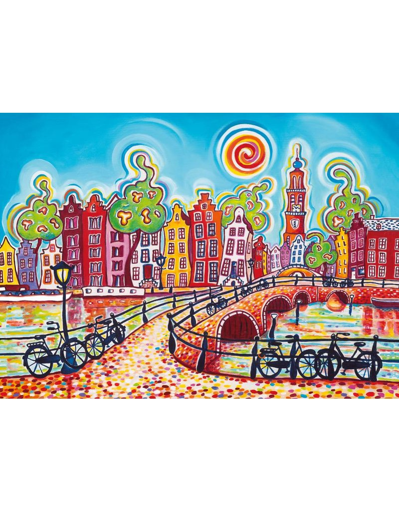 "House of Holland Puzzel 1.000 stukjes 1001 kleuren ""Amsterdam"""