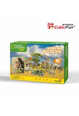 Cubic Fun African Wildlife -National Geographic - Copy