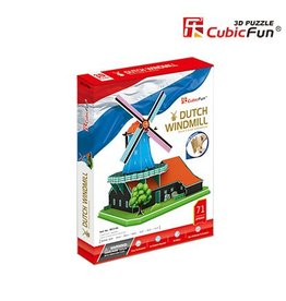 Cubic Fun Dutch Windmill