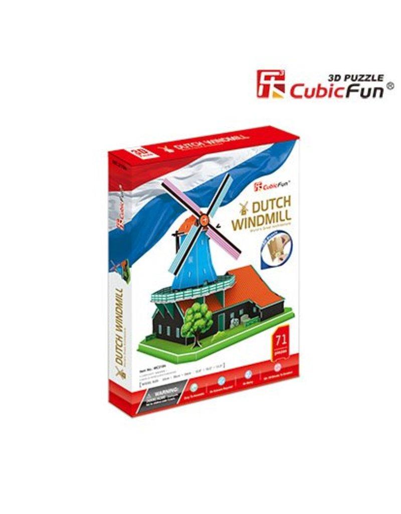 Cubic Fun Dutch Windmill
