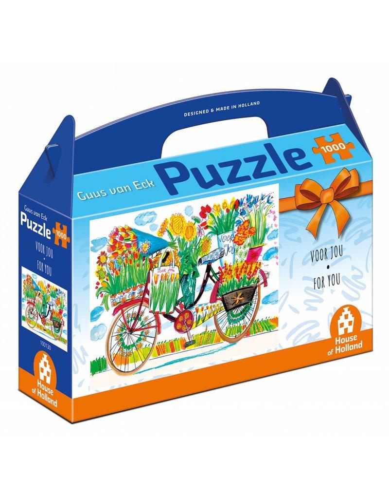 """House of Holland Puzzel 1.000 stukjes Guus van Eck """"Voor jou"""""""