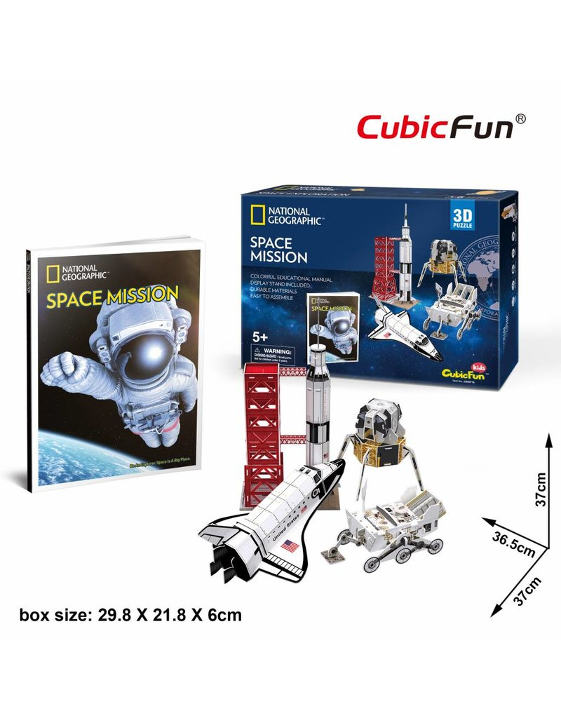 Cubic Fun Space Mission -National Geographic