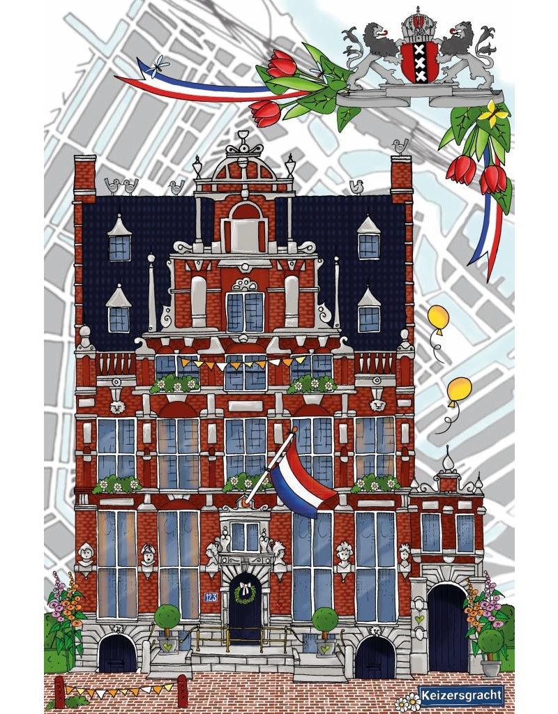House of Holland Huis met de hoofden Keizersgracht 123