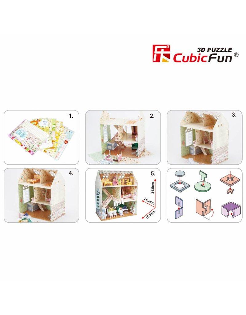 Cubic Fun Dreamy Dollhouse